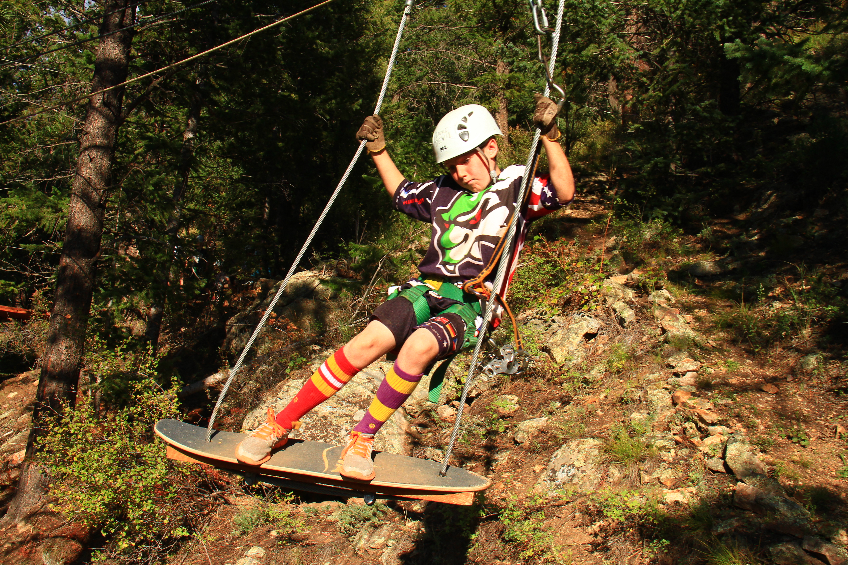 Kid Zipline Colorado